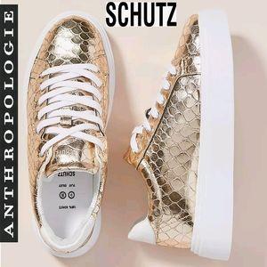 ANTHRO SCHUTZ 💎GOLDEDITION Raver Platform Sneaks